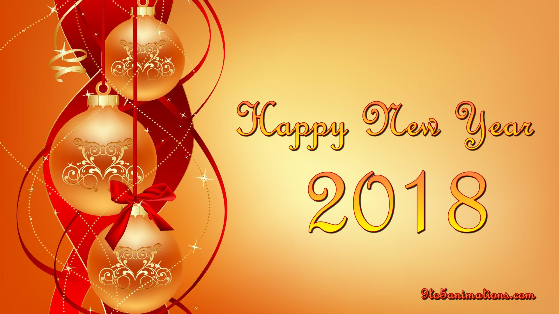 New Year Red Theme Wallpapers HD 9To5AnimationsCom 1920x1080