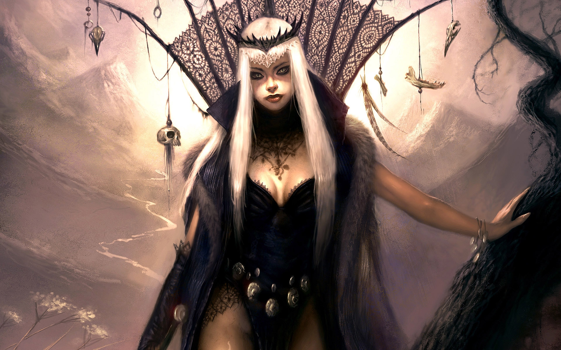 Fantasy girl   Goth wallpapers Fantasy girl   Goth stock photos 1920x1200