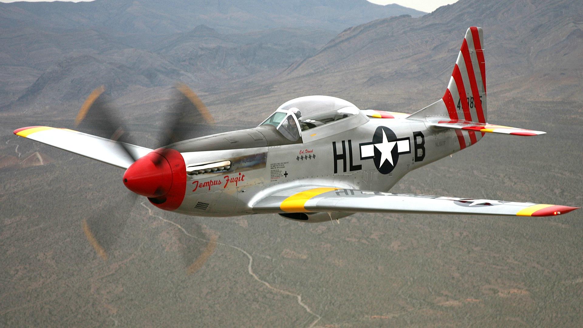 American Propeller Fighter Wallpaper 1920x1080