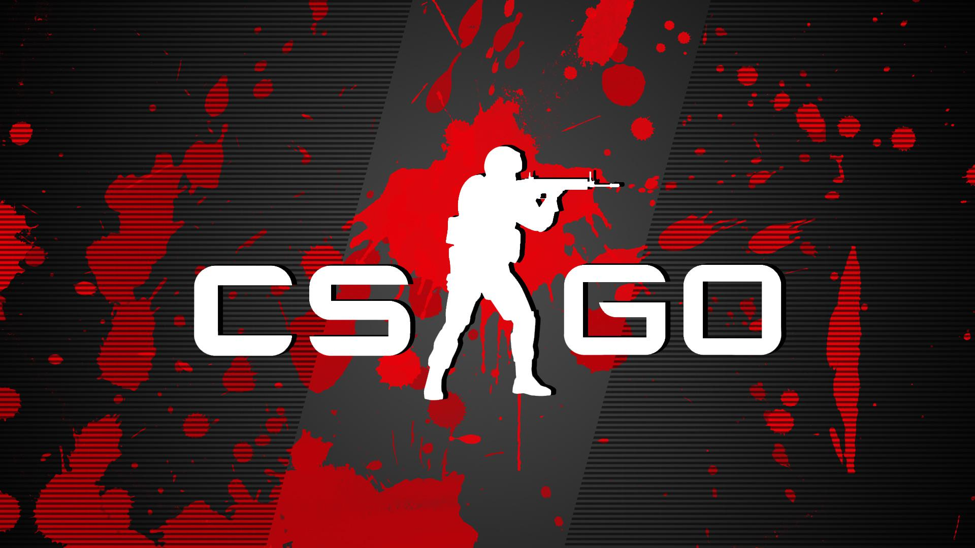Cs go red splatter   126680   High Quality and Resolution 1920x1080