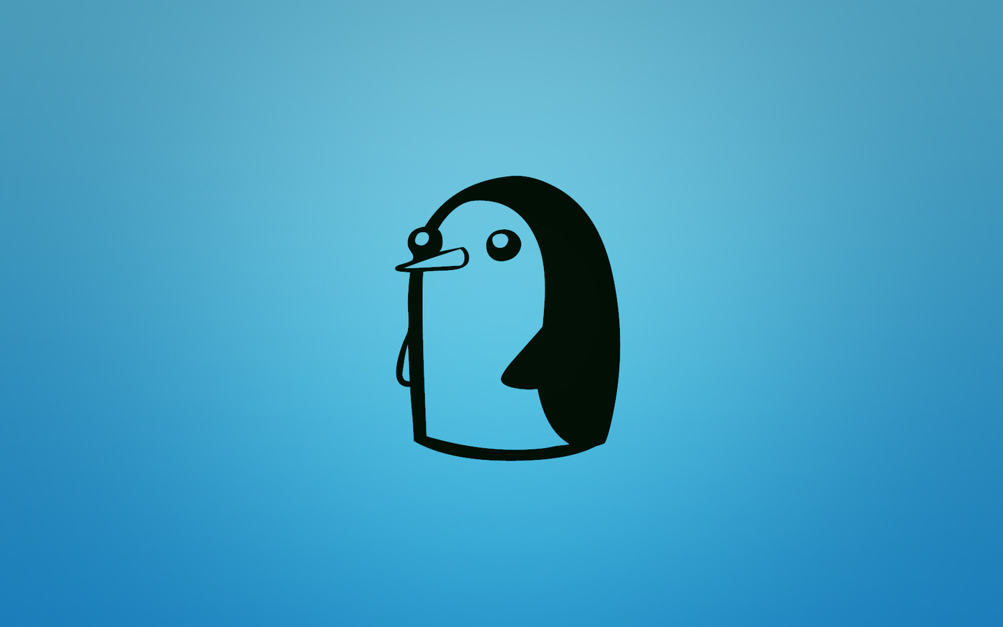 1440x900 gunter penguin at adventure time adventure time 1440x900