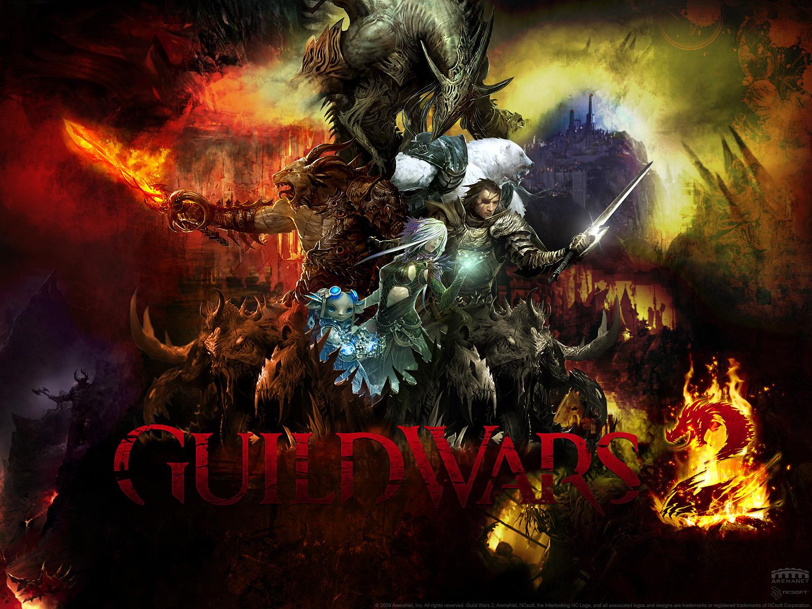 Fond ecran wallpaper Guild Wars 2   JeuxVideofr 1600x1200