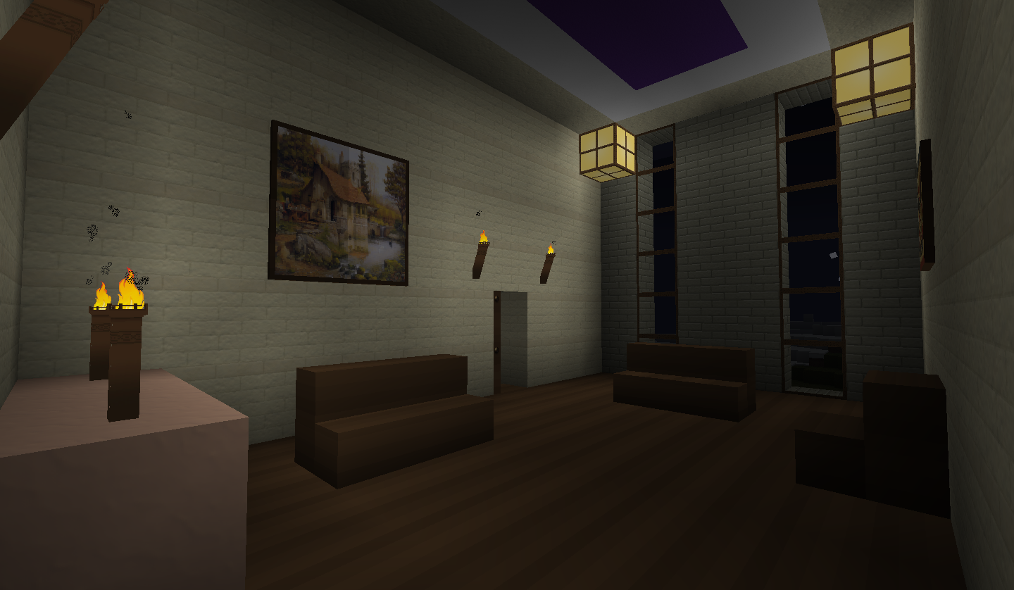Minecraft Bedroom Wallpaper The sitting room by kyidyl 1440x838