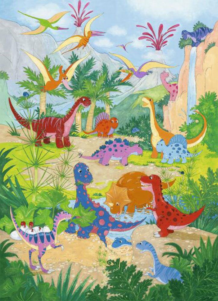 Kids Dinosaur Wallpaper - WallpaperSafari