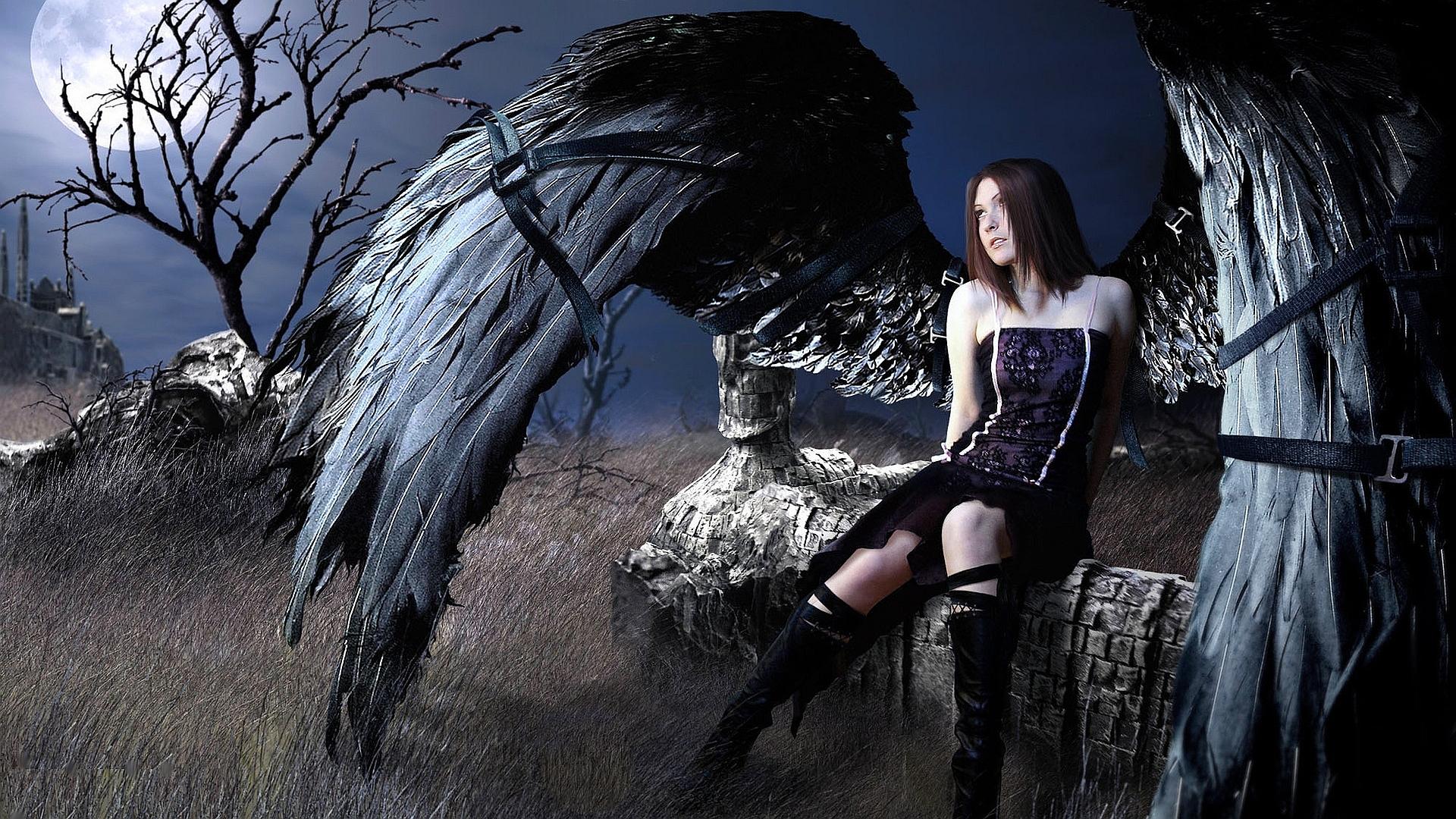 fallen angel Wallpaper Background 28674 1920x1080