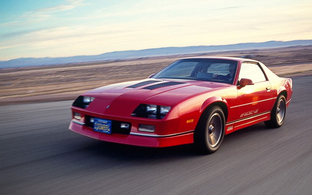 Chevrolet Camaro IROC Z Wallpapers High Quality Download 1024x640