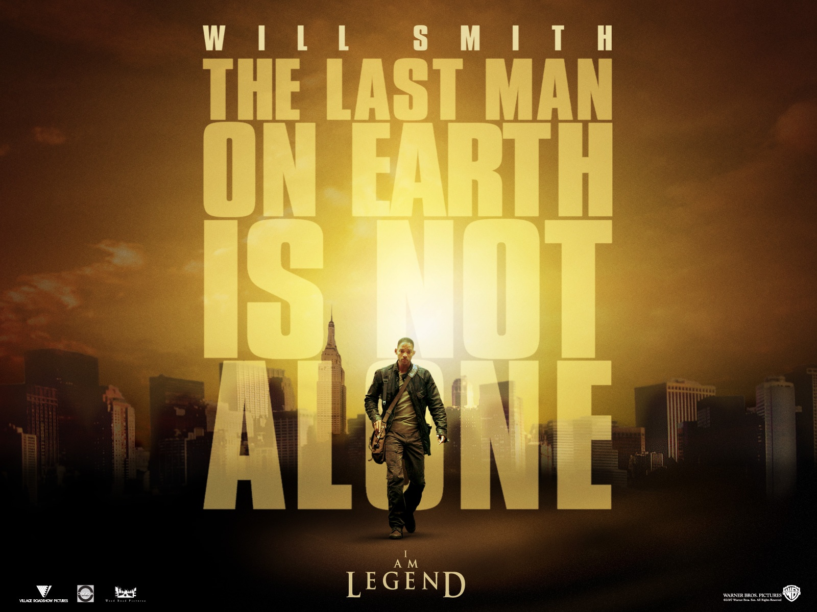 Am Legend Movie Wallpapers Wallpaper World 1600x1200