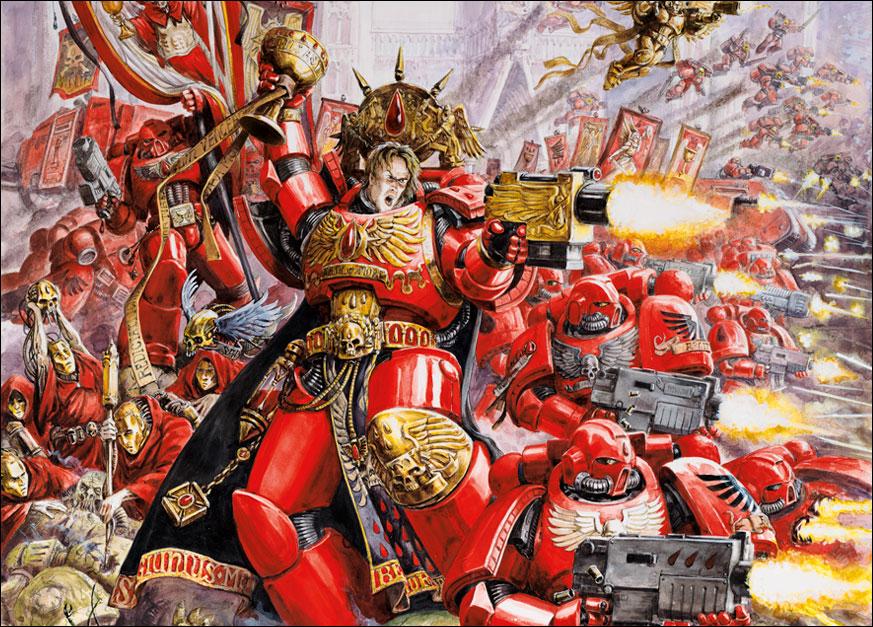 Blood Angels image   Warhammer 40K Fan Group   Mod DB 873x627