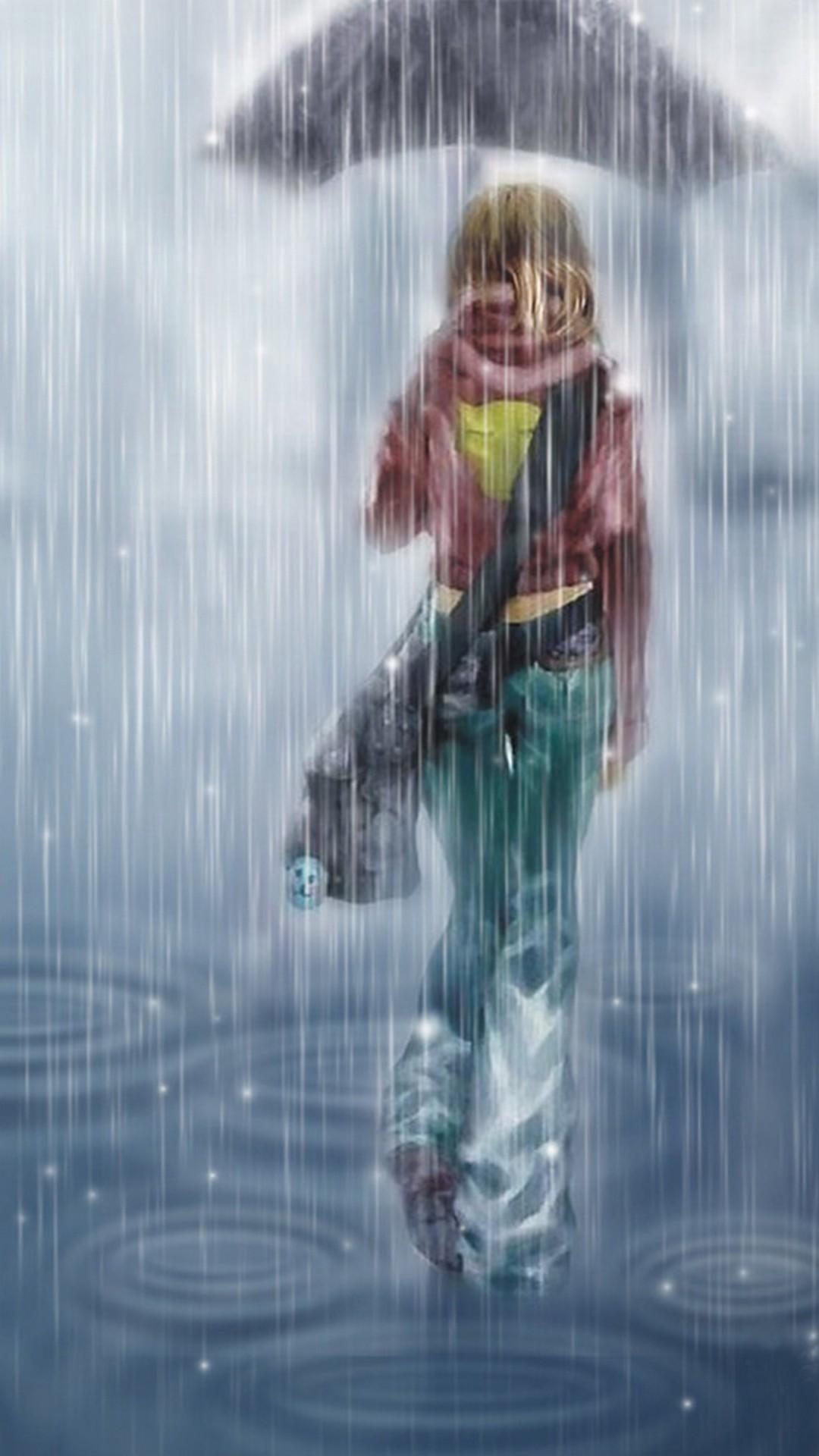 41+ Anime Rain Wallpapers on WallpaperSafari