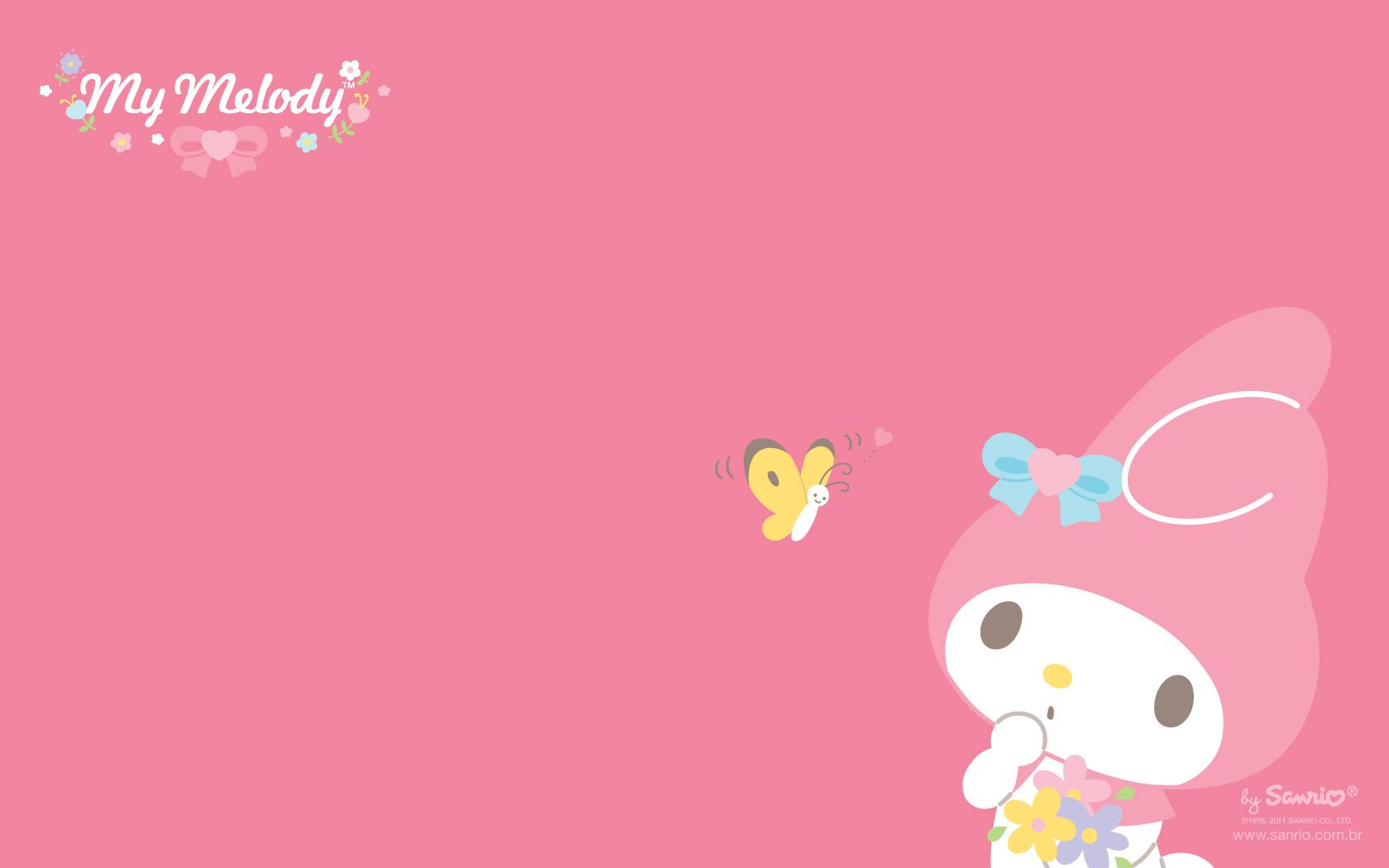 My melody wallpaper wallpapersafari - Casa hello kitty ...