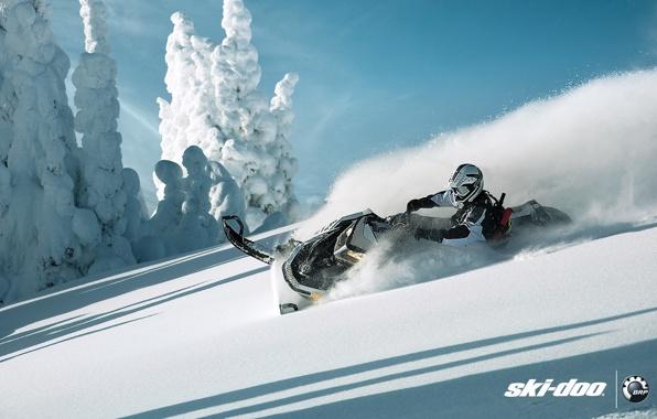 Ski doo skidoo summit snowmobile snowmobile brp snow sport 596x380