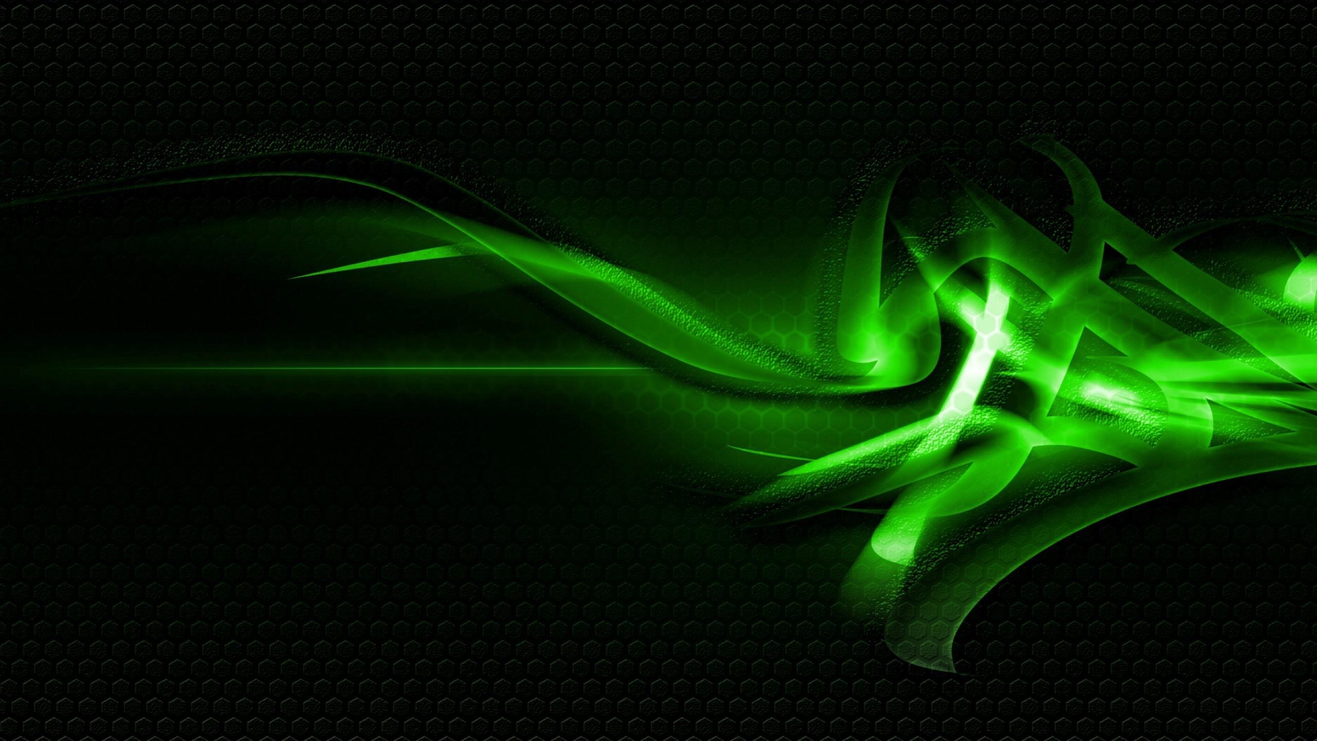 2560x1440 Wallpaper patterns green light dark 2560x1440