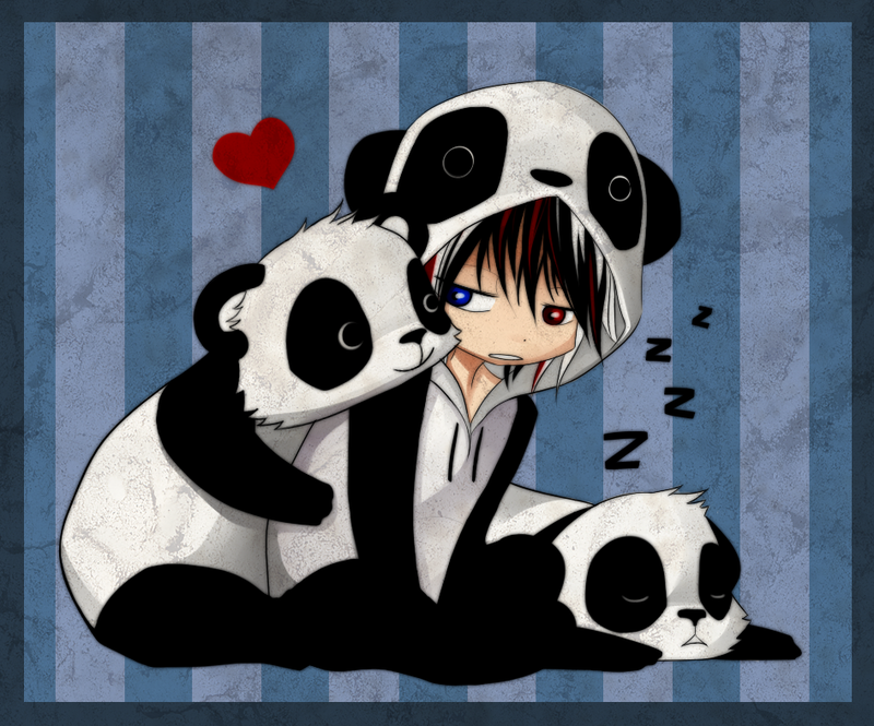 Free Download Anime Manga Chibi Pandas Emo Art Emo Anime Girl Emo