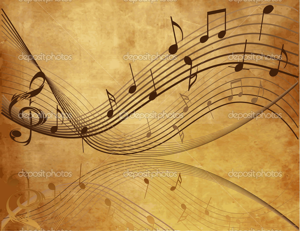 10 Vintage Music Note Vector Images   Vector Music 1024x789