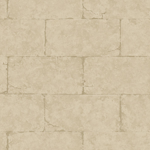 Brown Sandstone Block Wall Wallpaper   Wall Sticker Outlet 600x600