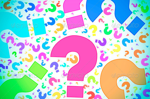 question marks background   Stock Photo PhotoDune 590x392