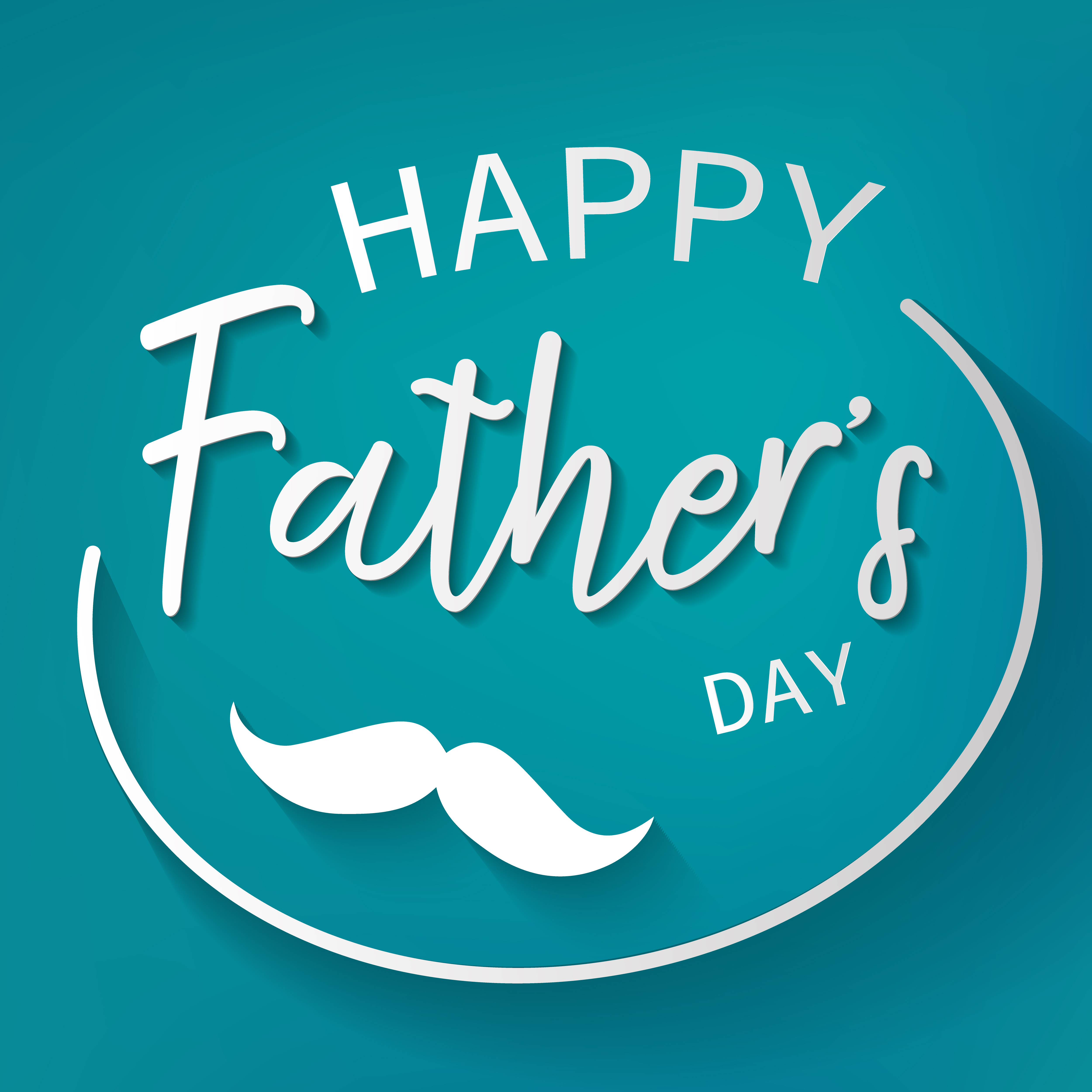 Happy father day graphic design background Decoration and 5000x5000