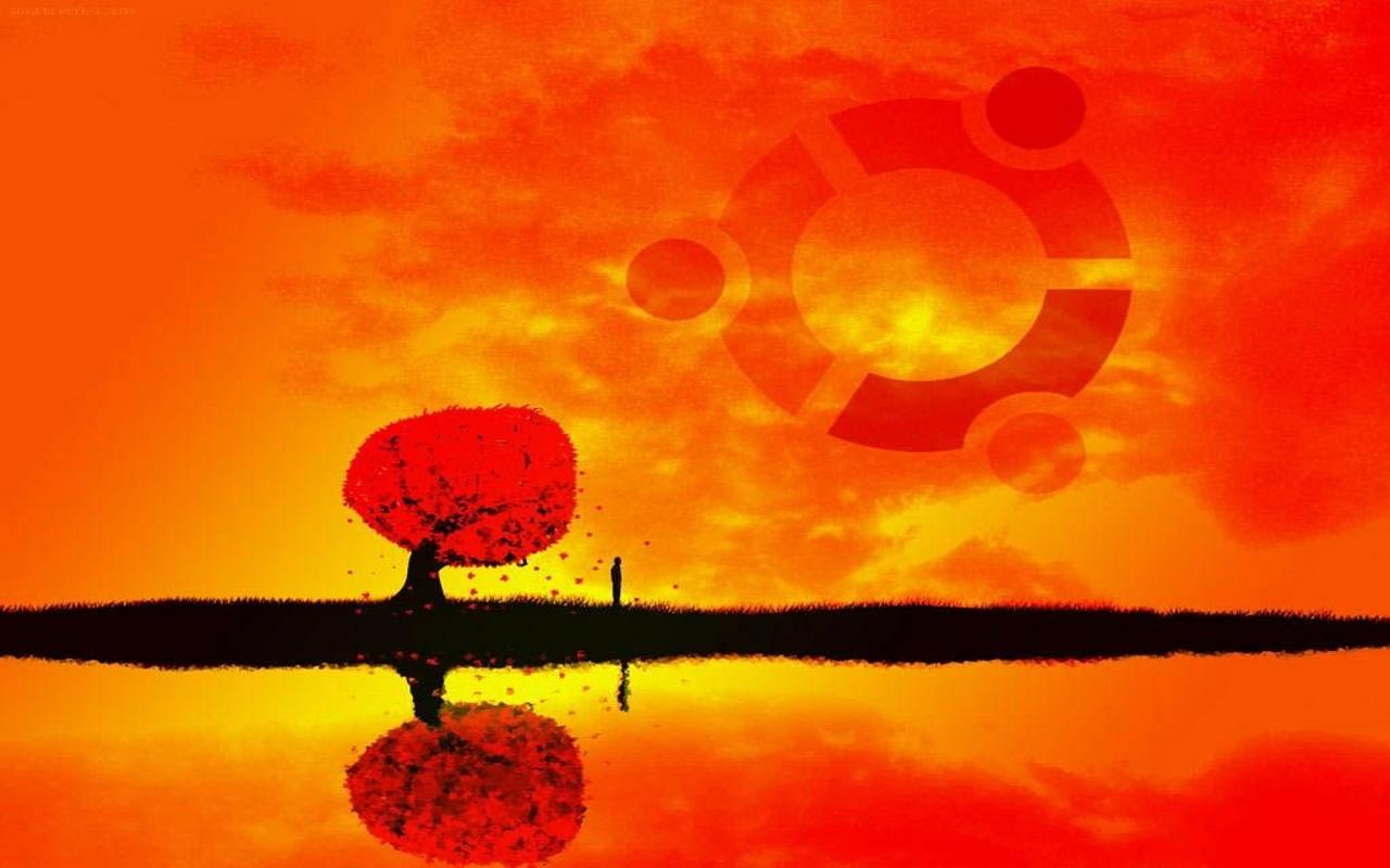 Ubuntu wallpaper Wallpaperart 1280x800