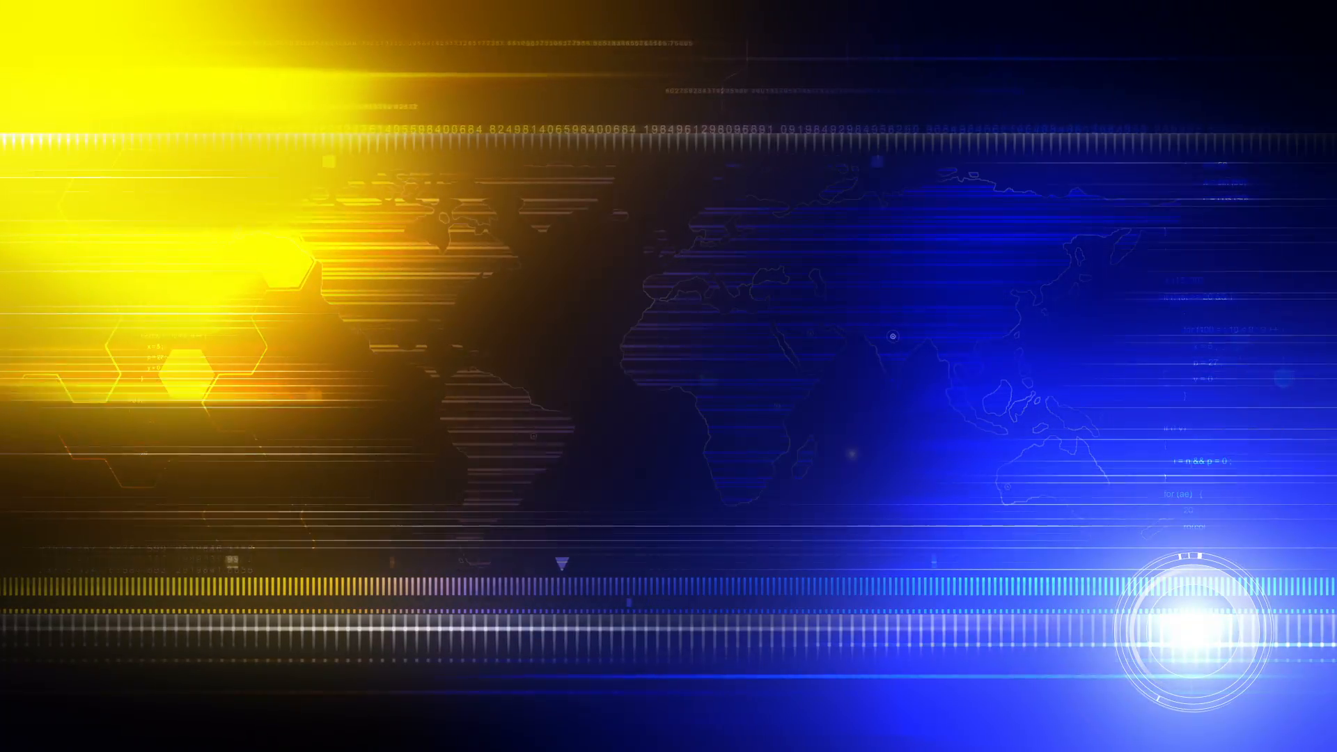 Broadcast News Sports Background Loop Motion Background 1920x1080