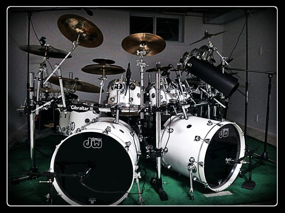 how to set up a drum kit from scratch