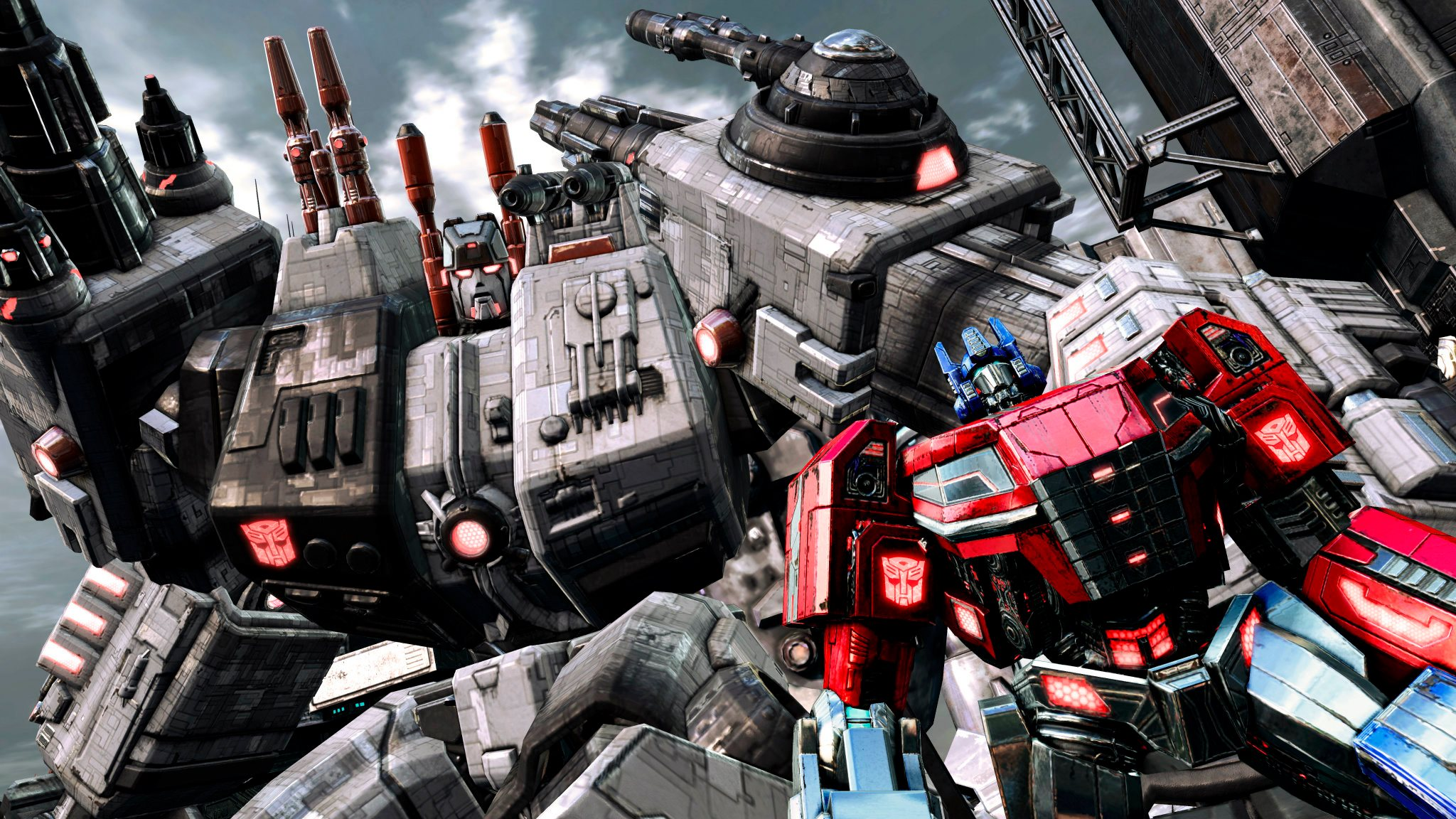 Video Game   Transformers Fall Of Cybertron Wallpaper 2048x1152