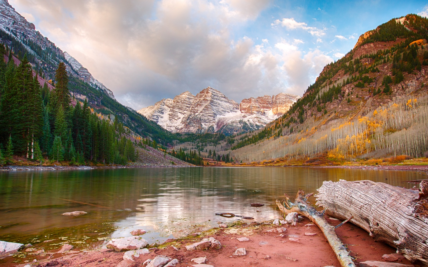Maroon Lake Aspen Colorado Wallpapers HD Wallpapers 1440x900