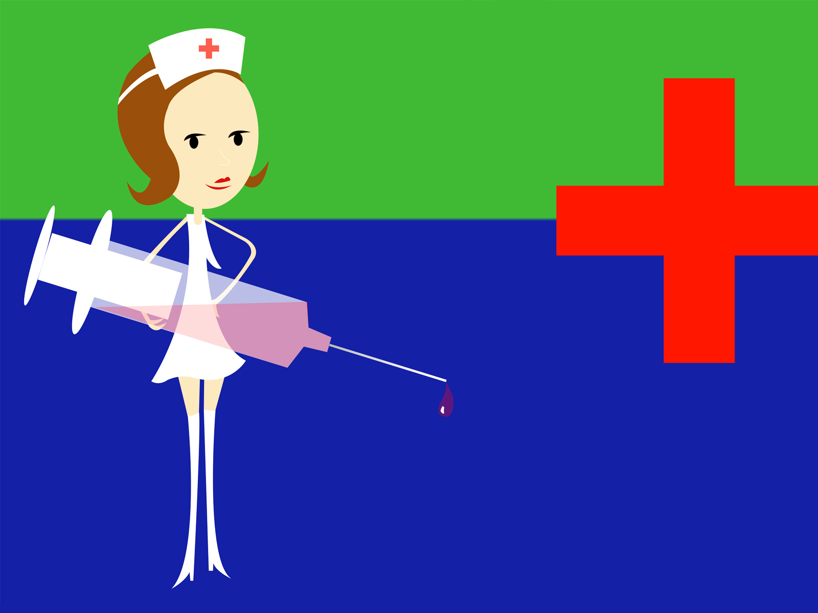 Free Nurse Slides Backgrounds Medical Templates PPT Grounds [ ] for your