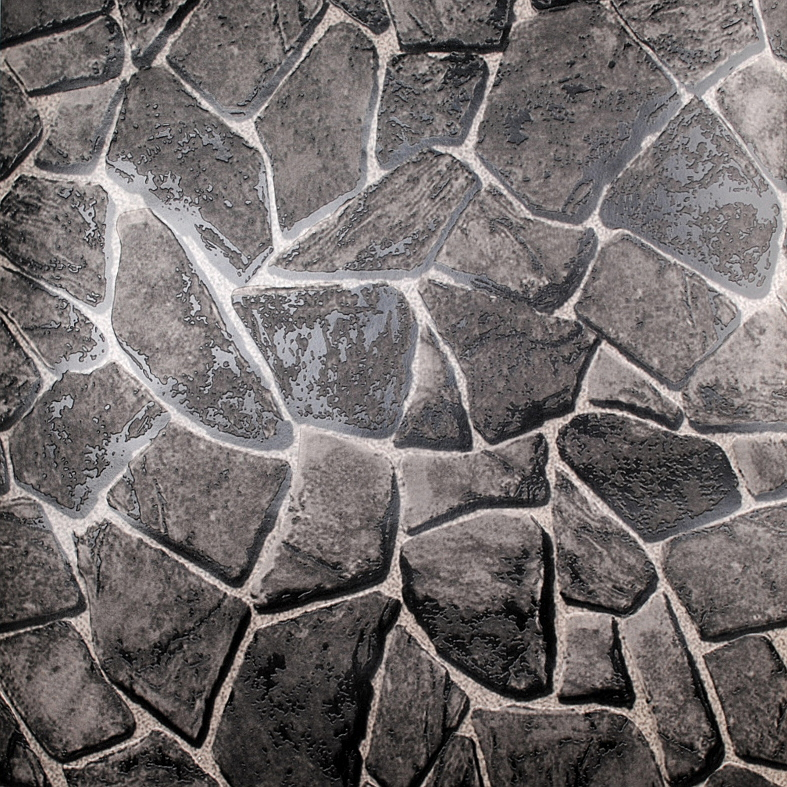 Effect Natural Stone Wallpaper Waterproof Embossed Vinyl Rock Stone 787x787