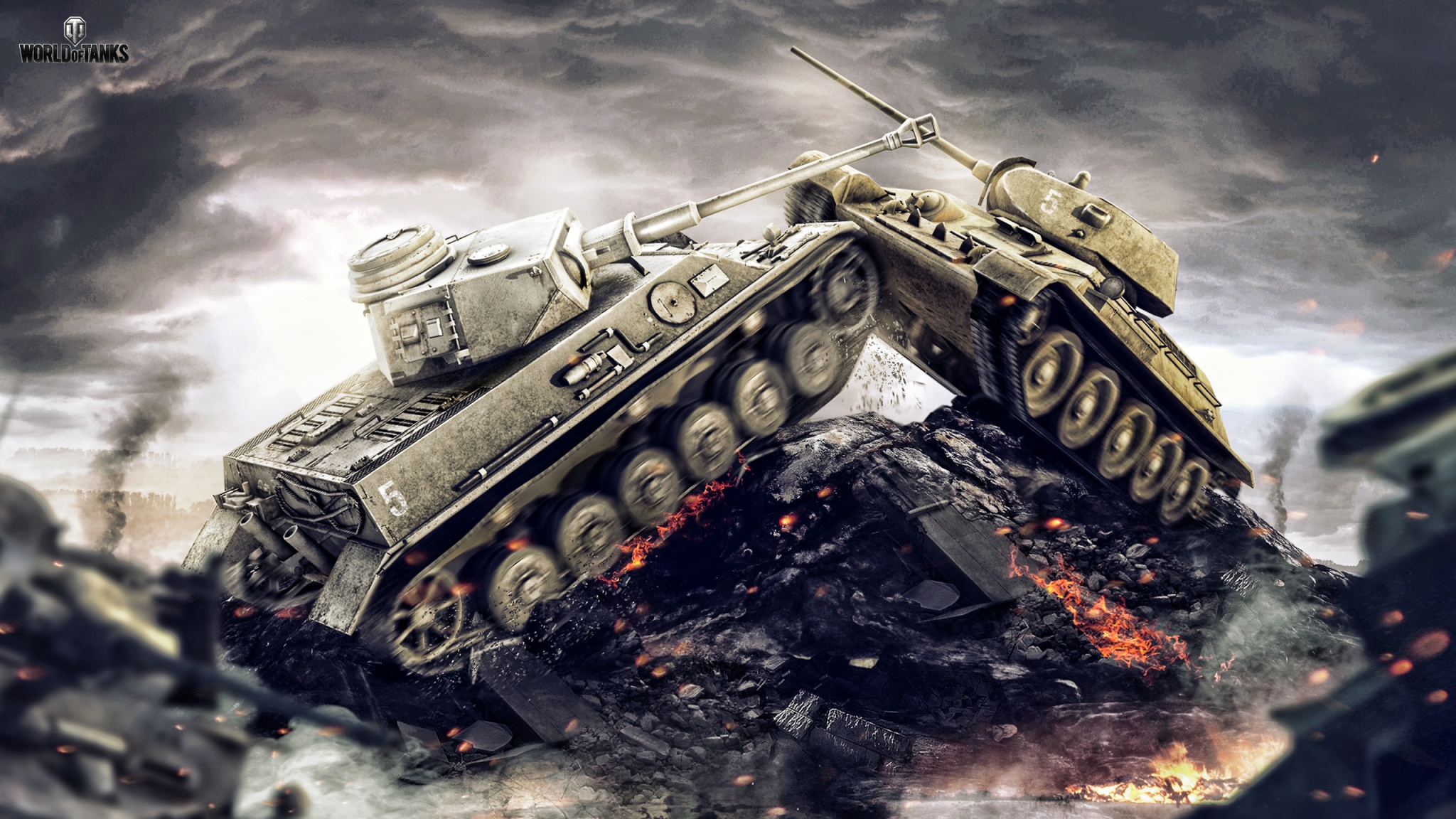 World Of Tanks Game High Five 2048 x 1152 Download Close 2048x1152