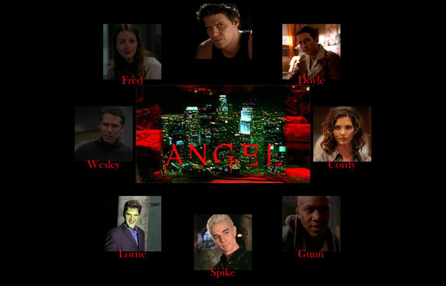 Angel TV Series Wallpaper by SRRenjiAbarai 900x578