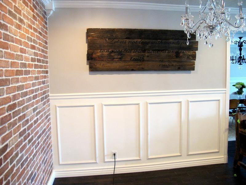 Wainscoting Wallpaper Tags How to Install Wainscoting Well and 800x600