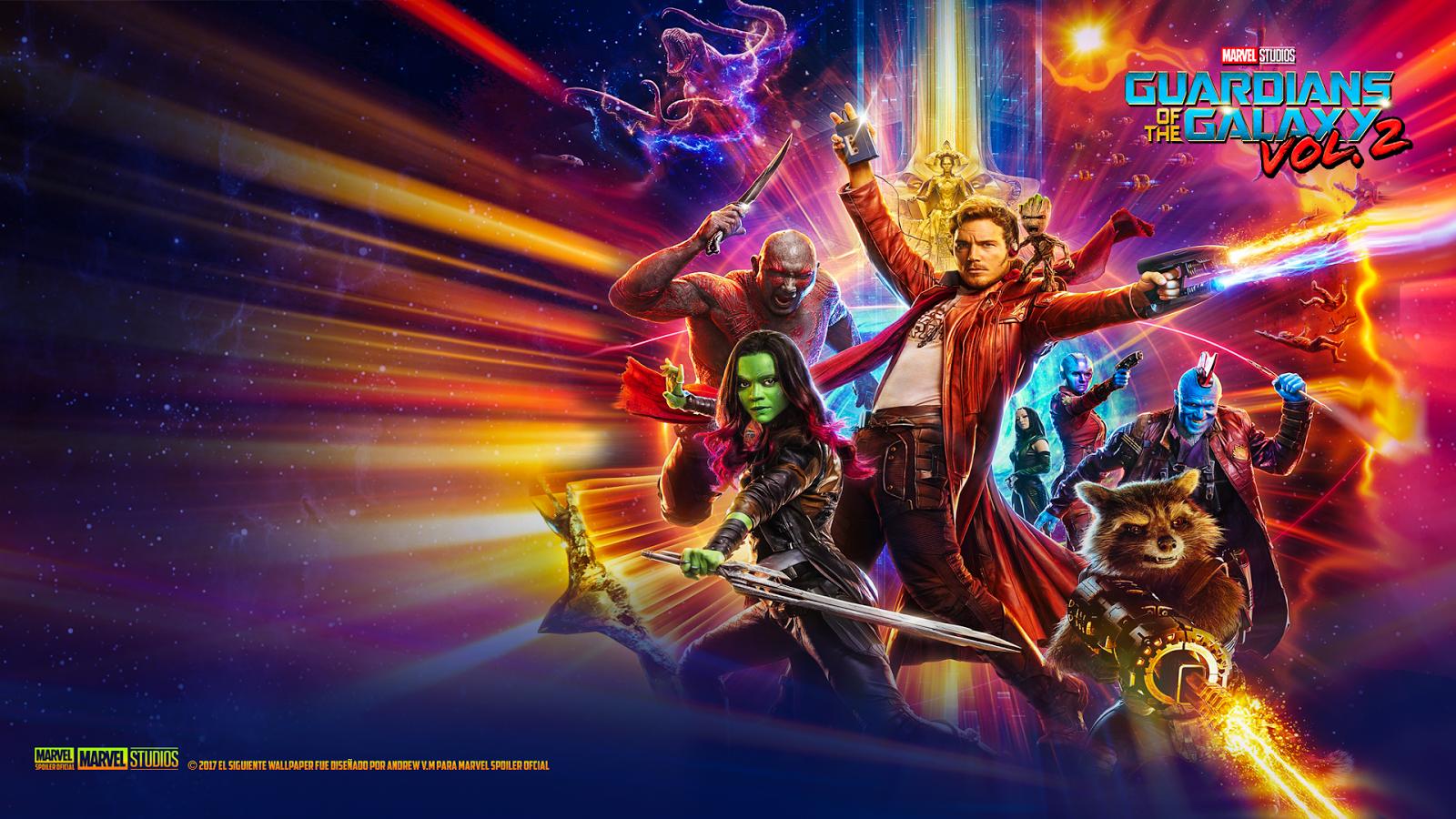Marvel Spoiler Oficial Nuevos Wallpapers de Guardians of 1600x900