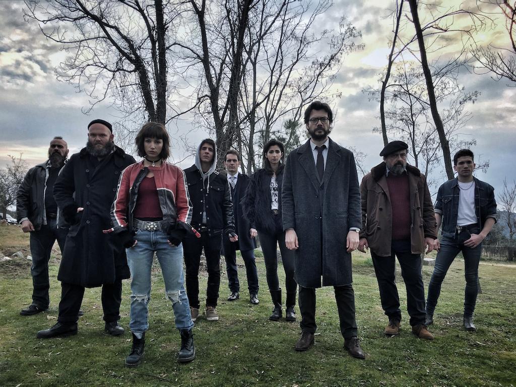 Vancouver Media produce para Atresmedia el thriller La Casa de Papel 1024x768