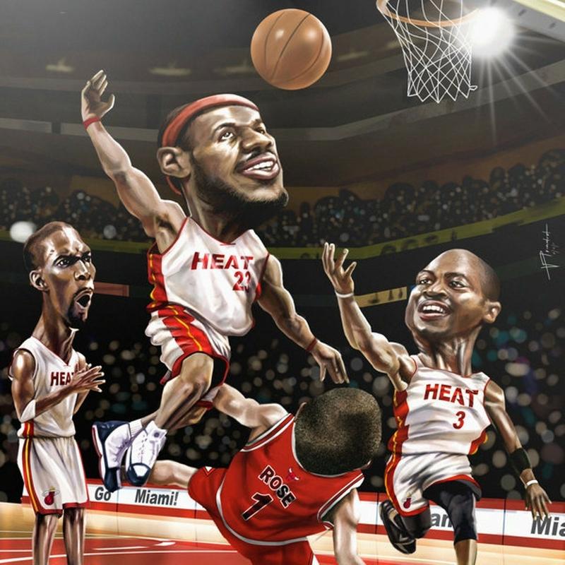 LeBron James Dwyane Wade Wallpaper