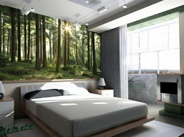40 Individuelle Designentscheidungen Schlafzimmerwand gestalten 600x447