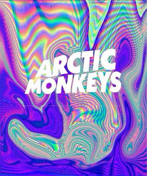 Colorful Iphone Wallpaper: Arctic Monkeys Wallpaper