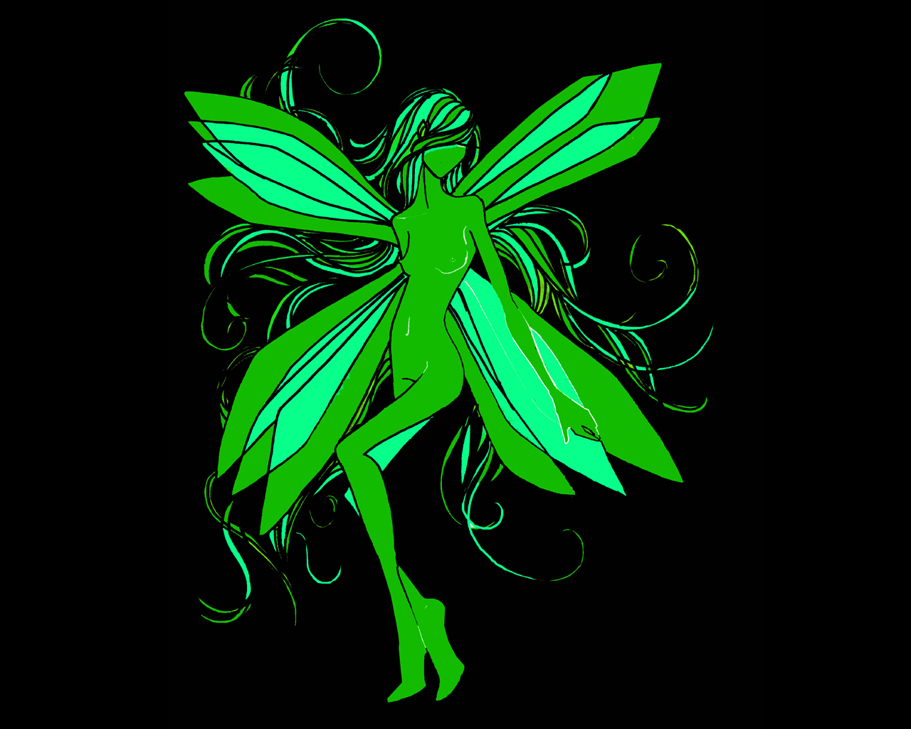 Absinthe images The Green Fairy HD wallpaper and 1280x1024