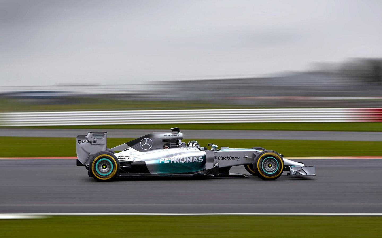 2014 Mercedes AMG Petronas F1 W05 Motion 1 1440x900 Wallpaper