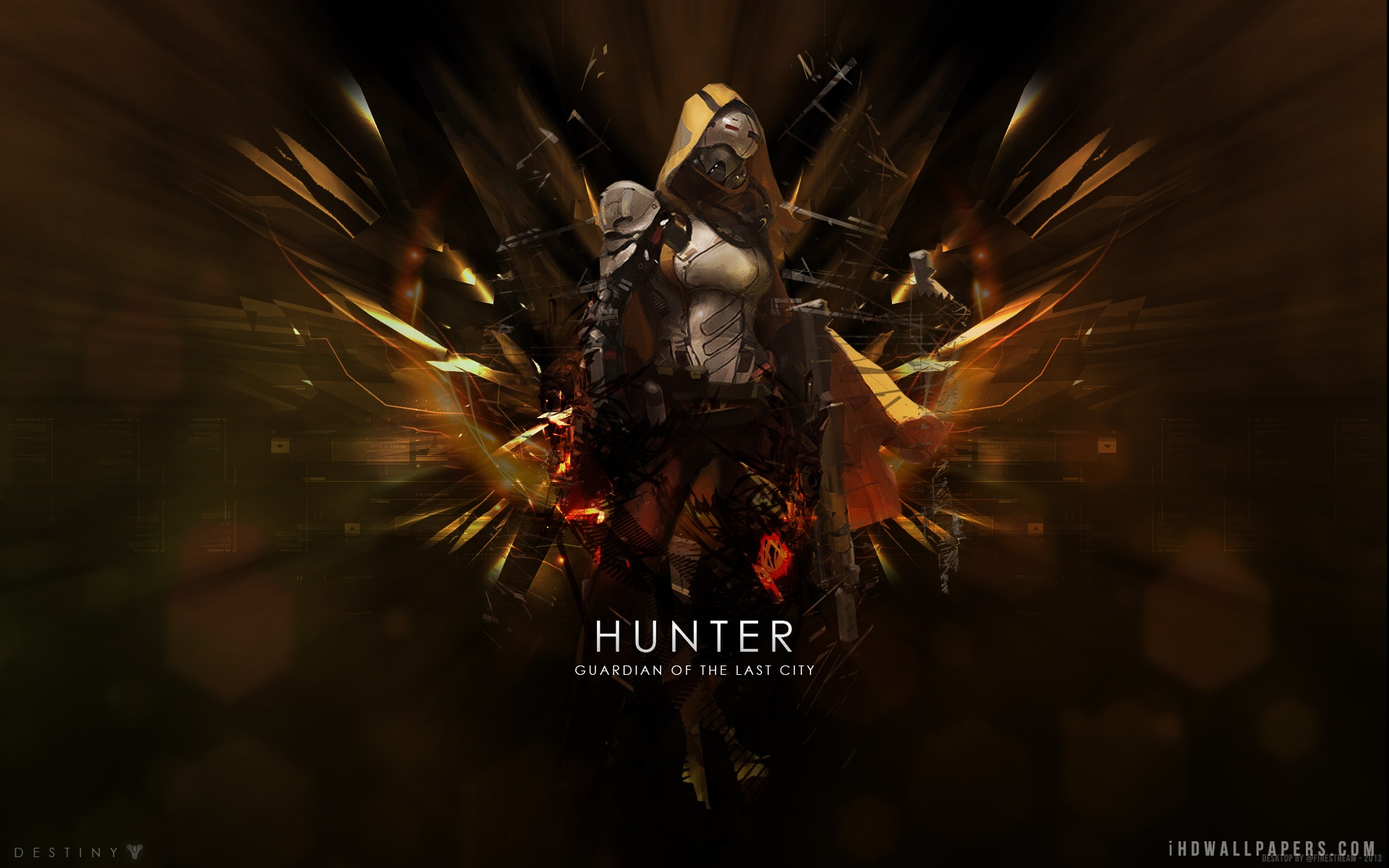 47 Destiny Hunter Iphone Wallpaper On Wallpapersafari