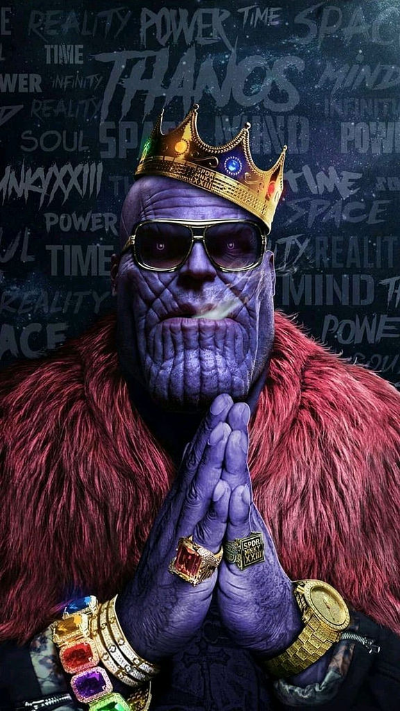 Fortnite Wallpaper Avengers Thanos Hip hop Crown Gold Ch Flickr 576x1024