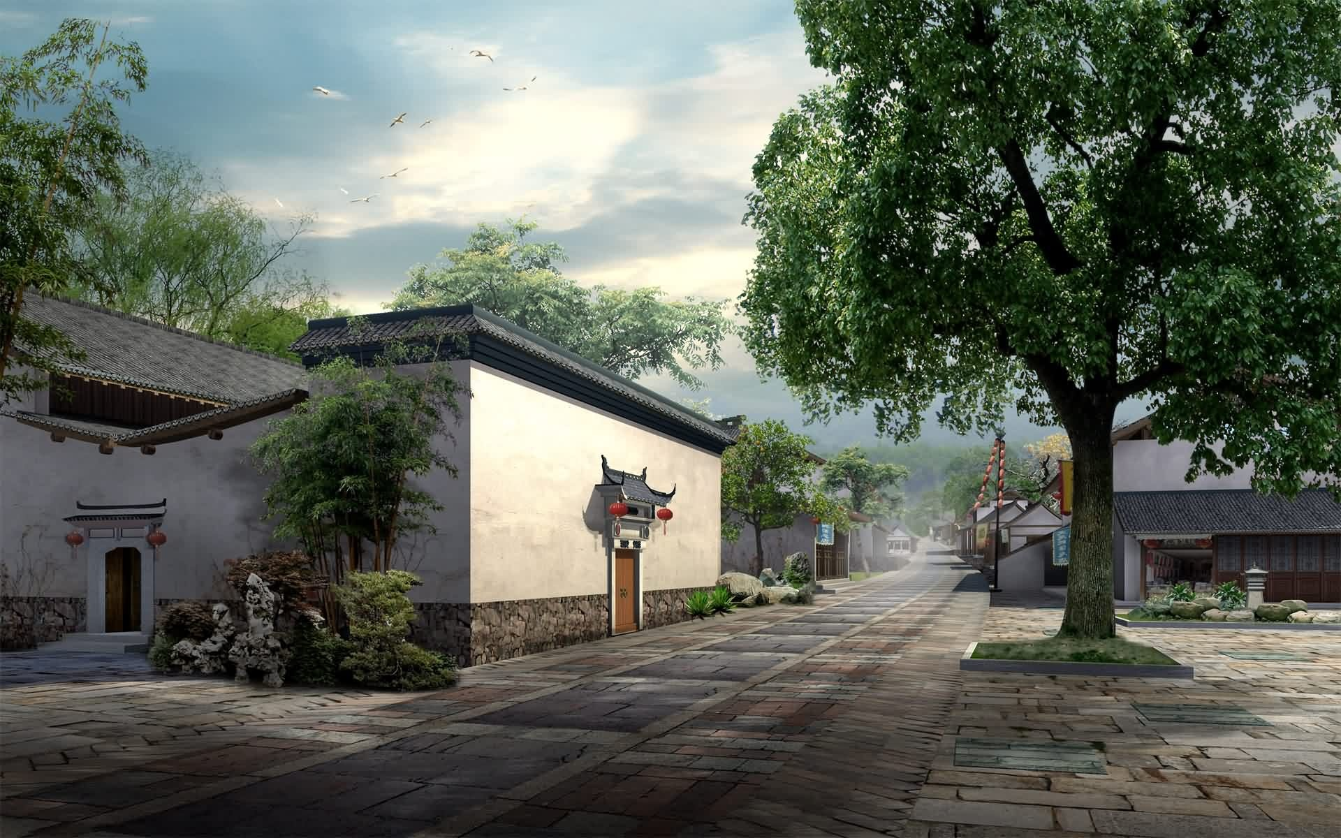 router du village wallpapers 15966 1920x1200jpg 1920x1200