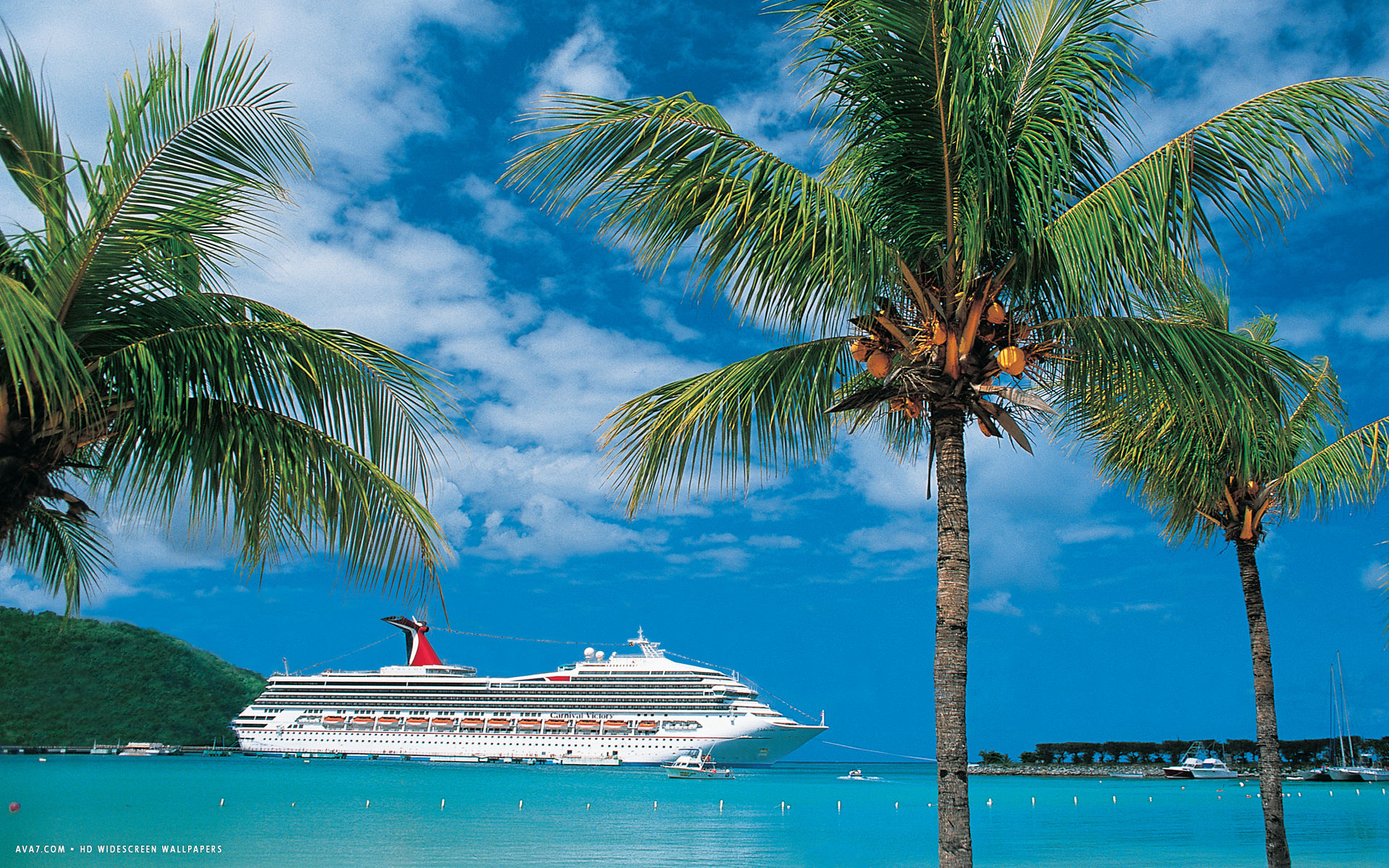 carnival victory cruise ship hd widescreen wallpaper cruise ships 1920x1200