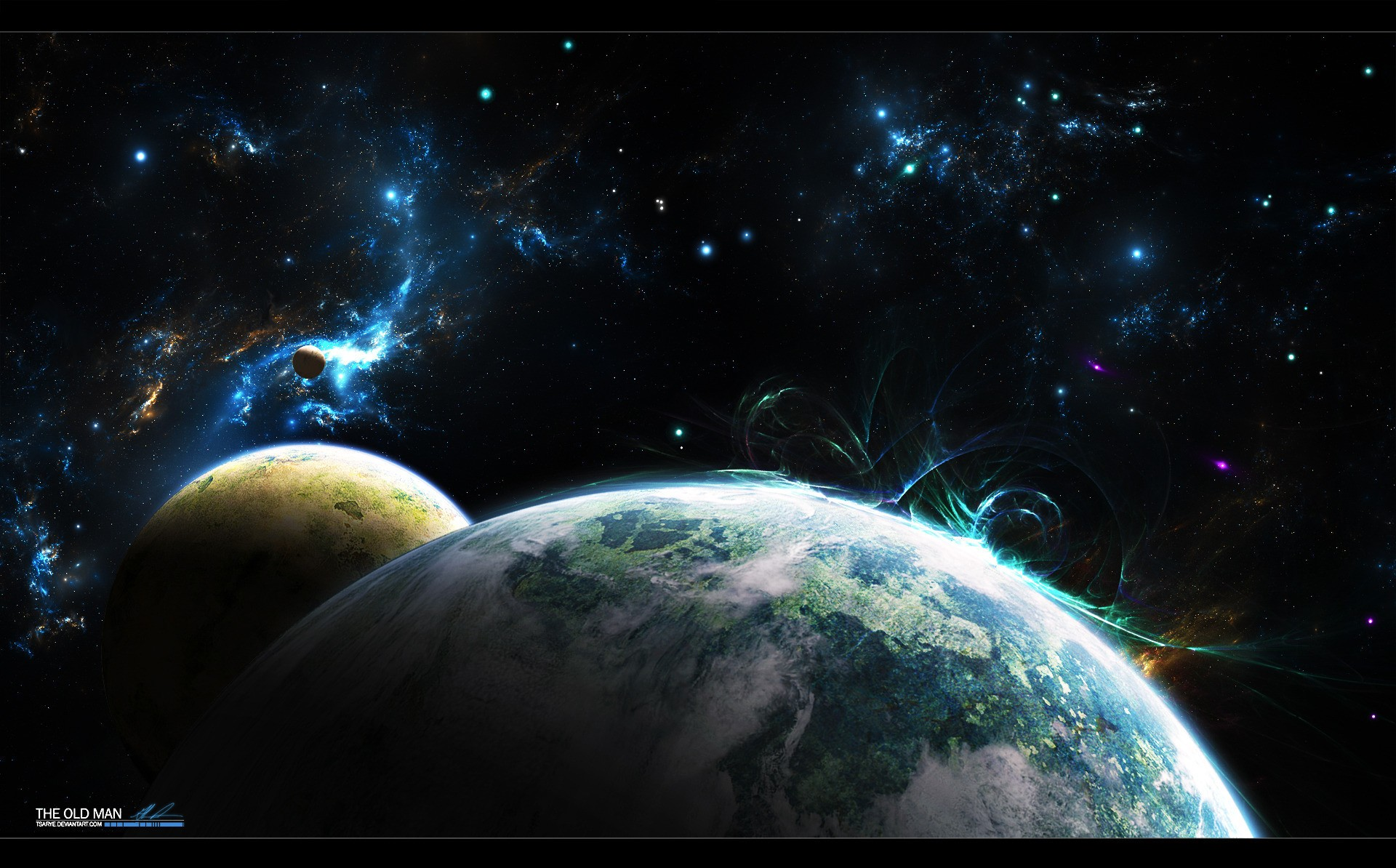 Outer Space Desktop Wallpaper: Outer Space Wallpaper For PC