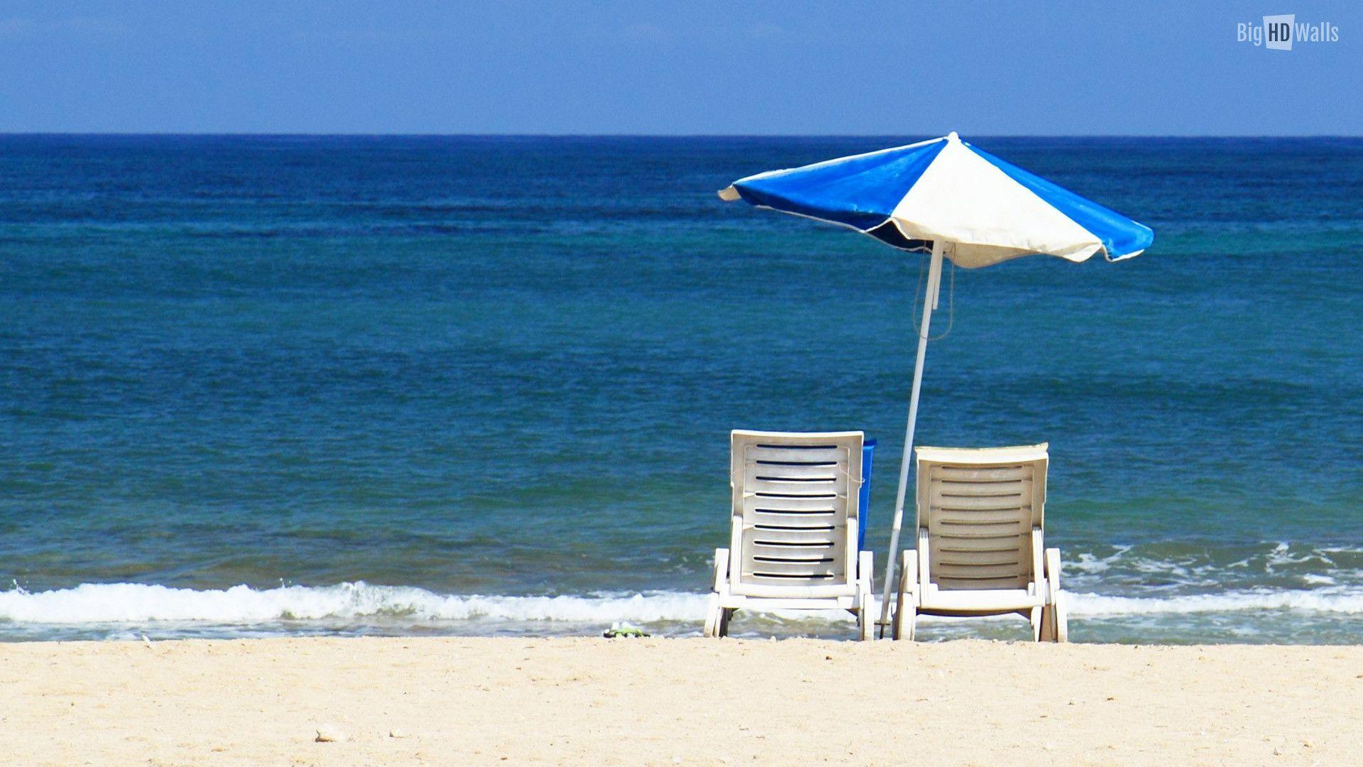 Summer Beach Backgrounds 1920x1080