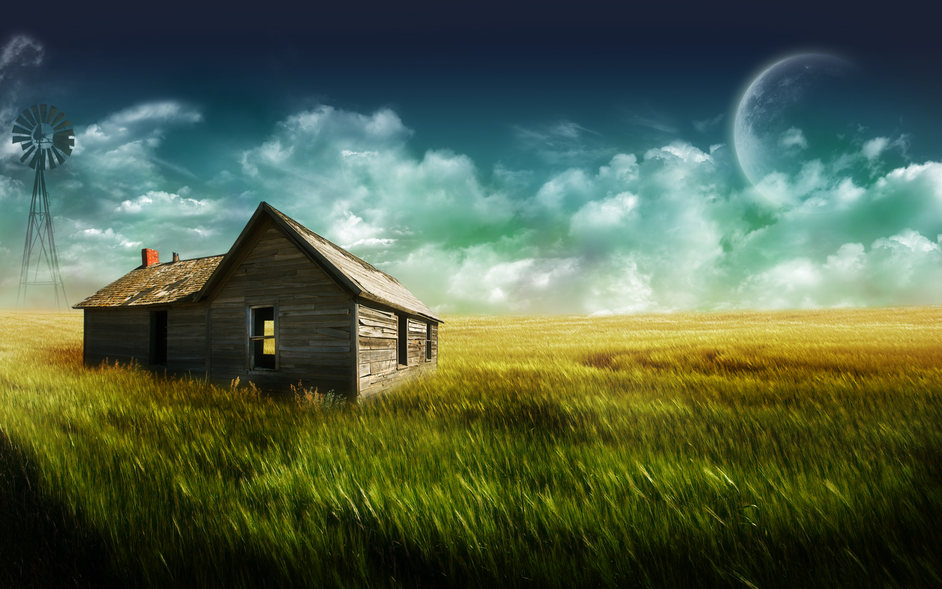 the old farm by nuahs customization wallpaper landscapes scenery 2007 1920x1200