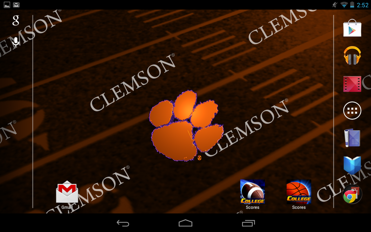 Clemson Live Wallpaper HD   Android Apps on Google Play 1280x800