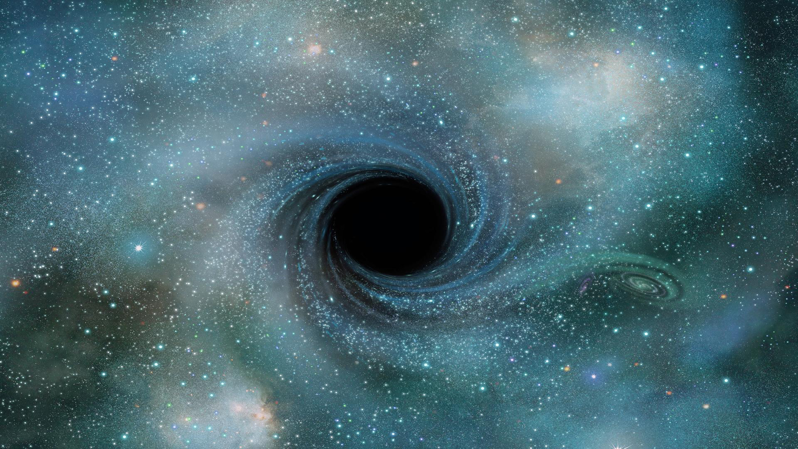 black holes in space - HD 2560×1440