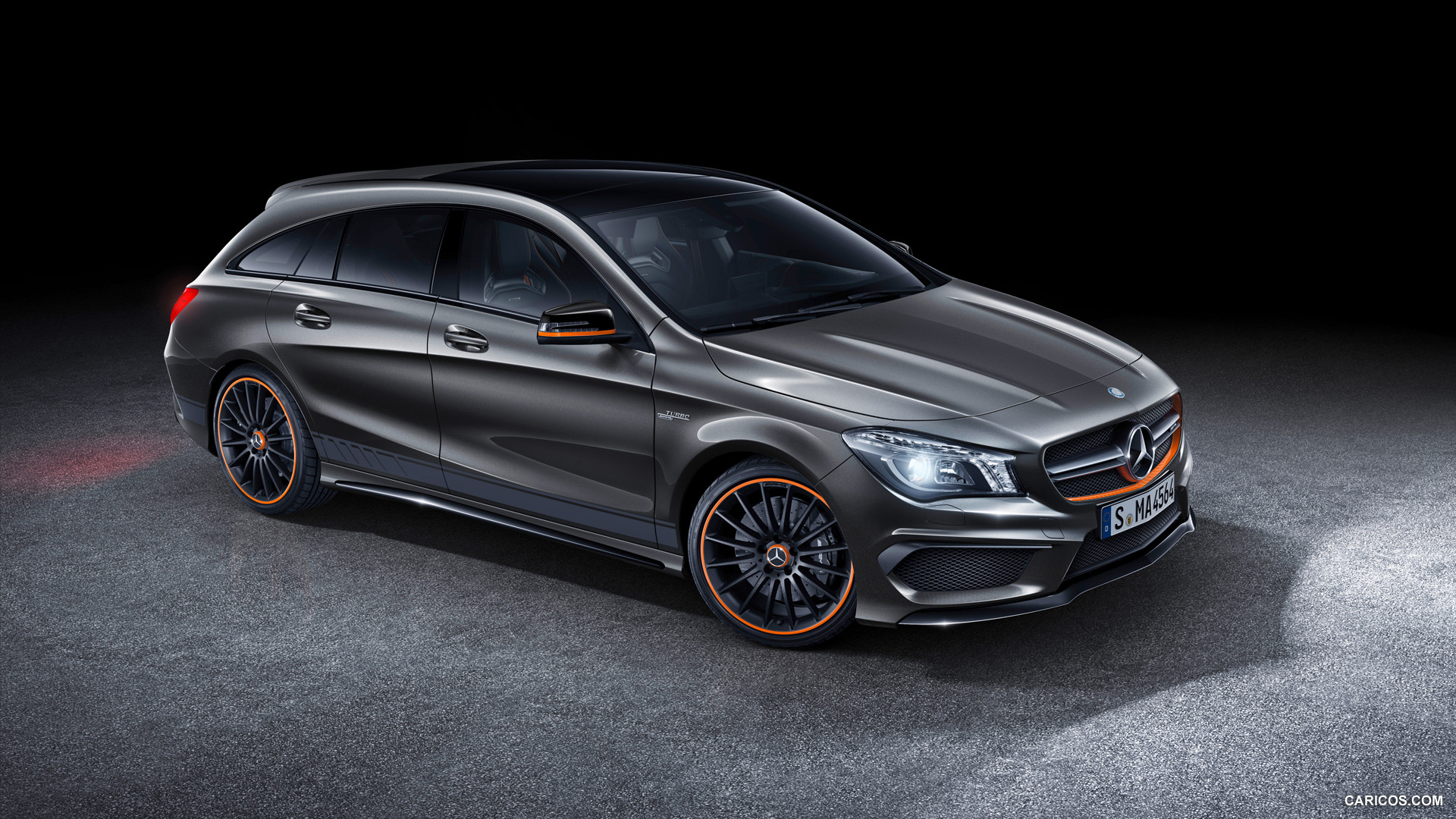 2015 Mercedes Benz CLA 45 AMG Shooting Brake OrangeArt   Side HD 1920x1080