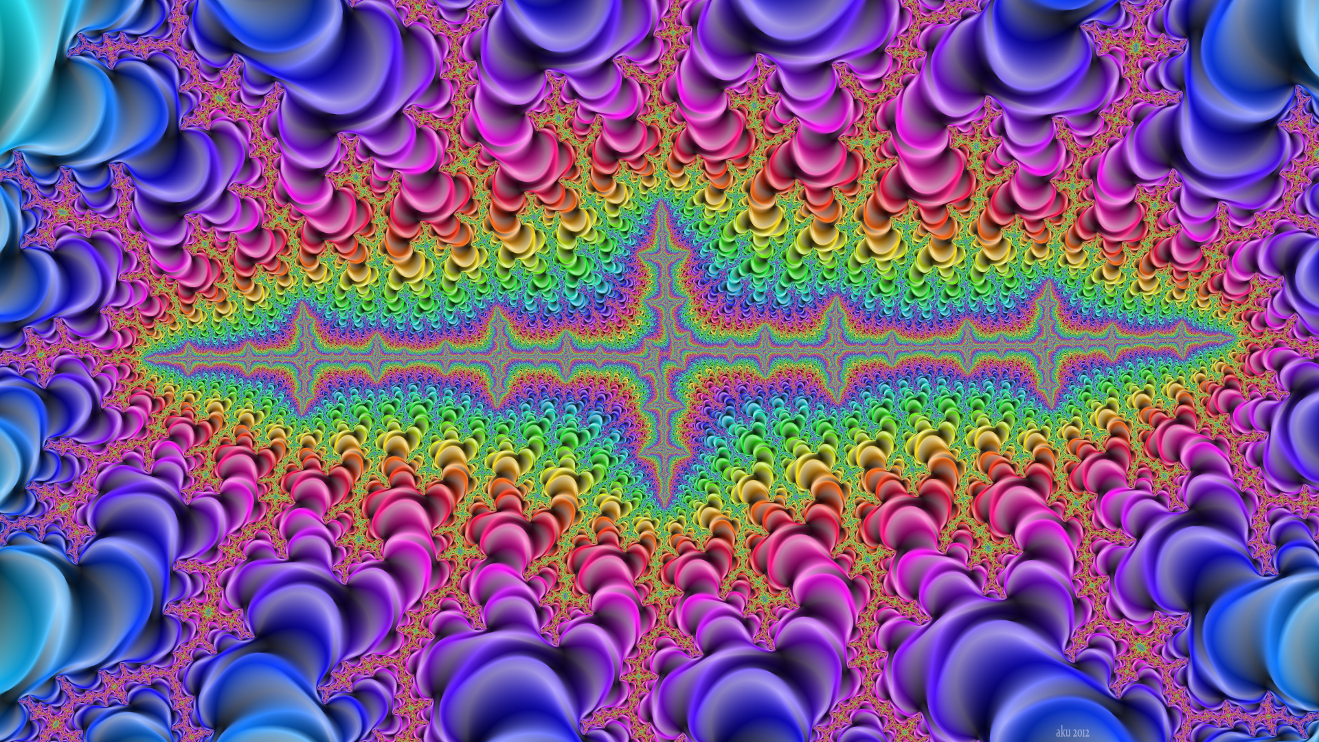 Artistic   Psychedelic Wallpaper 1920x1080