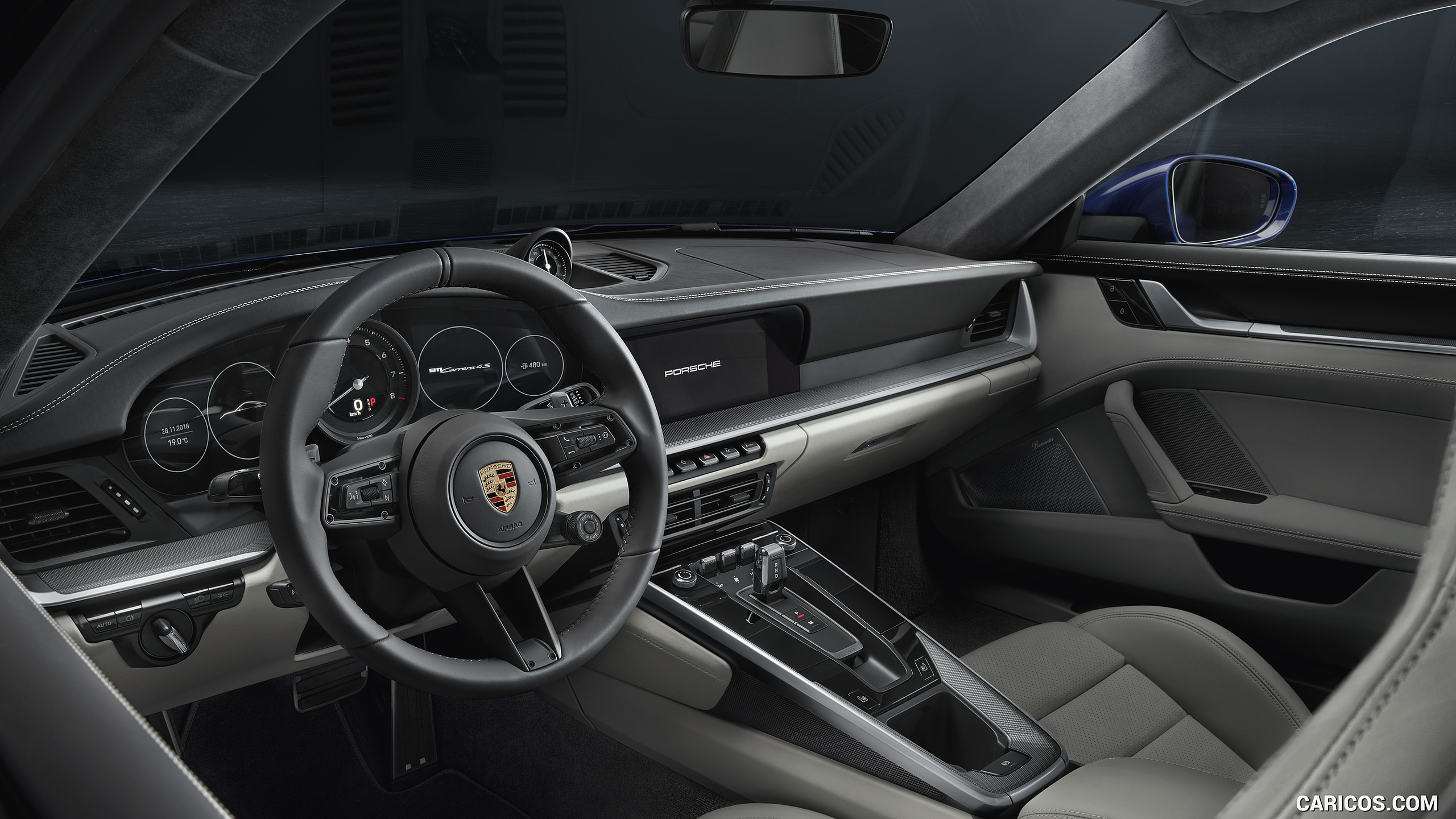 2020 Porsche 911 Carrera 4S   Interior HD Wallpaper 19 2560x1440